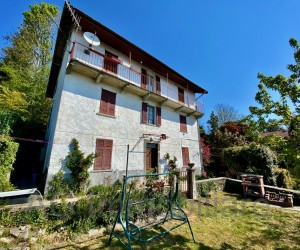 Verbania hillyside detached house with rustic and private garden with Lake View - Ref. 167