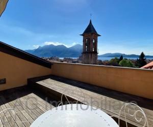 Verbania Intra centro Attico con terrazza e Vista Lago - Rif: 068
