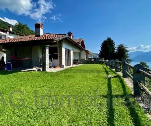 Oggebbio collina villa semindipendente con stupenda vista Lago - Rif. 108