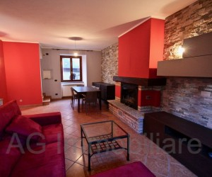 Verbania first hill renovated semi-detached house - Ref: 078