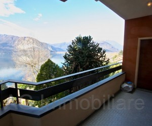 Verbania Suna three room apartment with terrace and View - Ref: 109