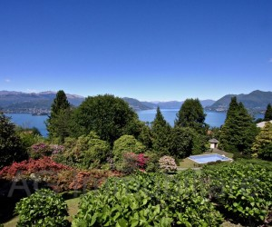 Stresa Villa with pool, park and Lake View - Ref: 194