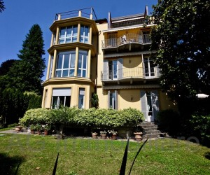 Verbania Pallanza four room apartment in epoch villa with Lake View - Ref: 141