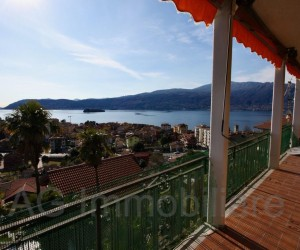 Verbania three room apartment with view of the Lake - Ref: 106