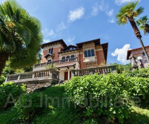 Stresa historic villa with beautiful park - Ref: 186