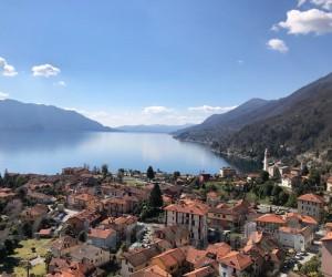 Cannero Riviera ampio trilocale con stupenda Vista Lago - Rif 024