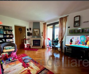 Verbania hill three-room apartment with terrace and Lake View - Ref: 027